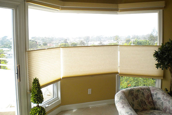 Roller, Motorized, Cordless, Cellular Shades